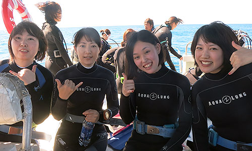 ダイビングコース